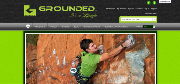 GROUNDED BRAND