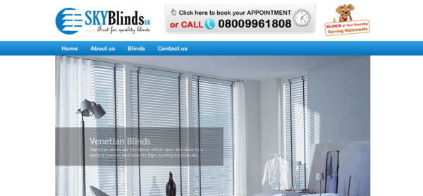 Sky Blinds uk