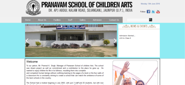 Pranavam School of children..
