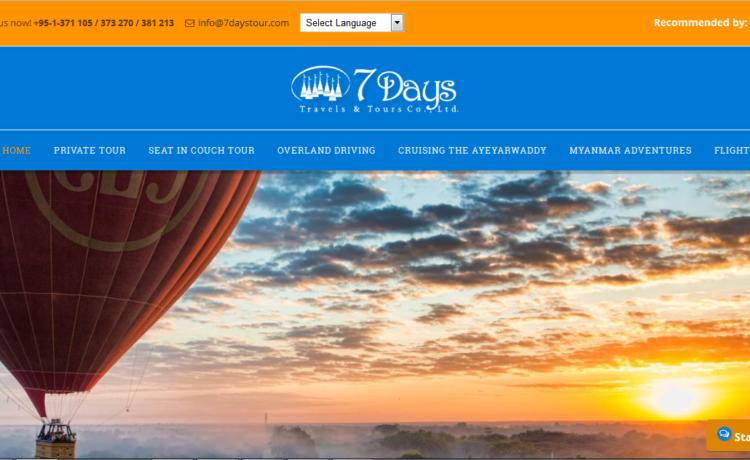 7 days Travels & Tours Co.ltd